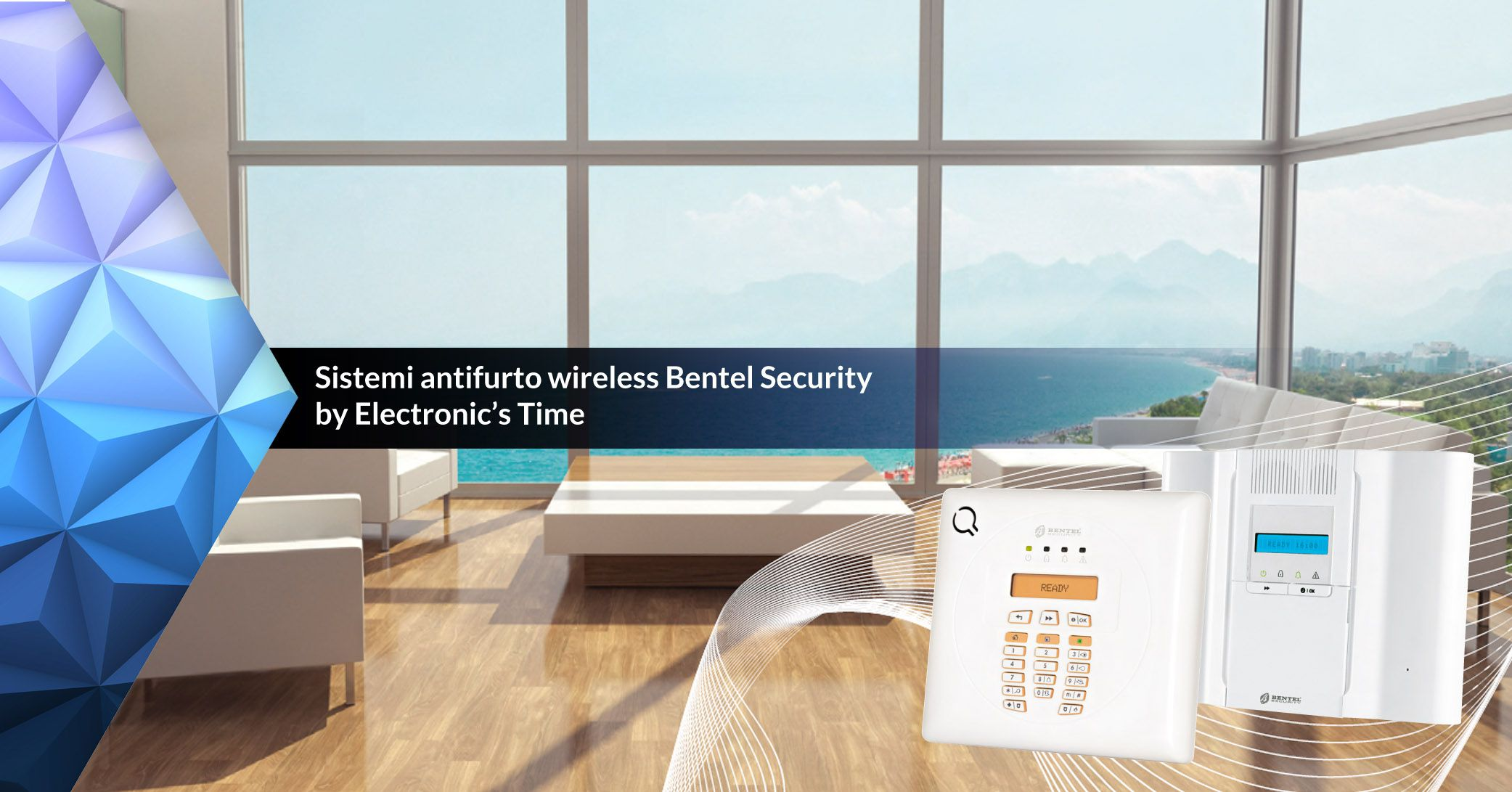ANTIFURTO WIRELESS BENTEL Security