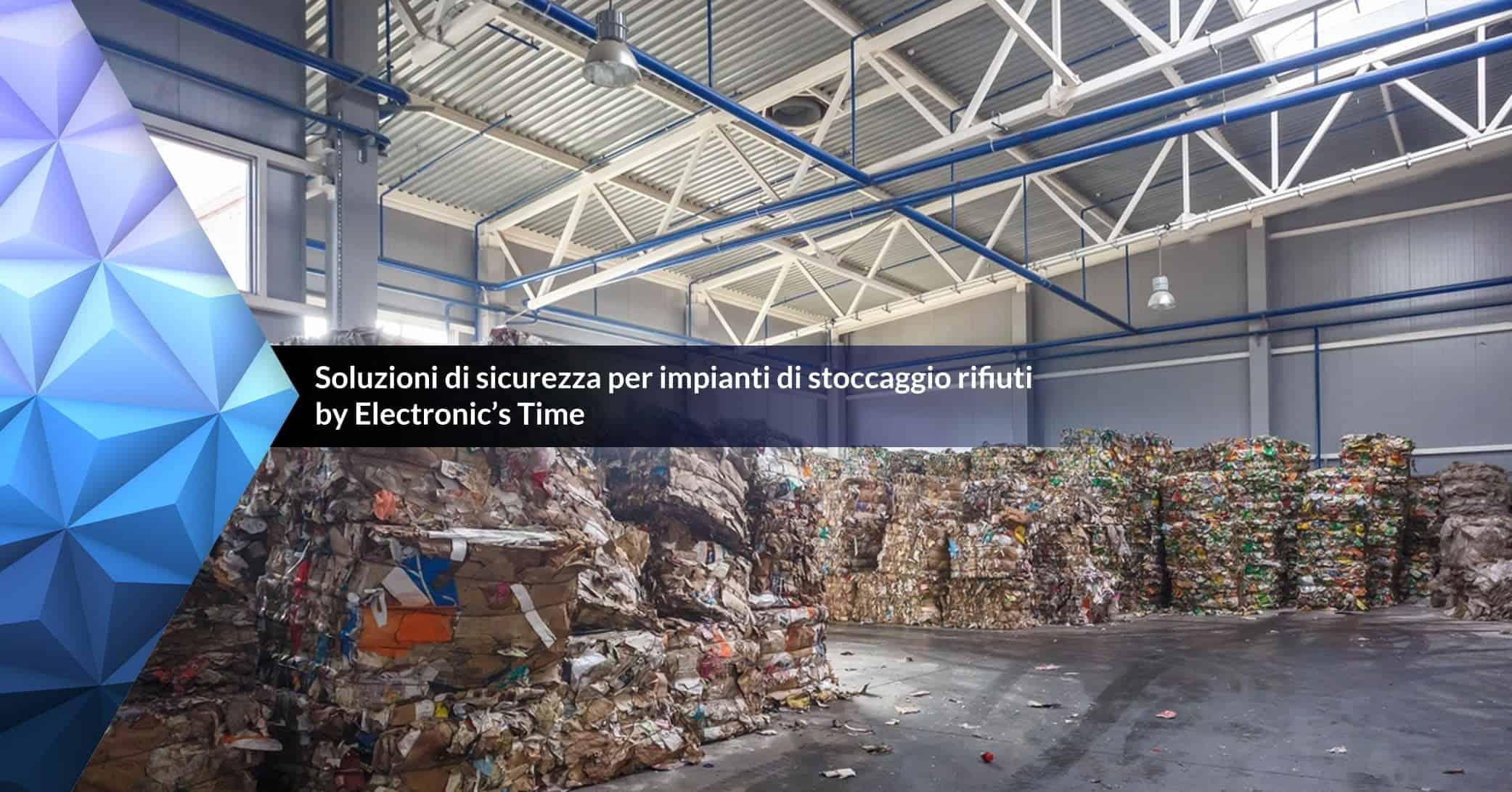 sicurezza stoccaggio rifiuti